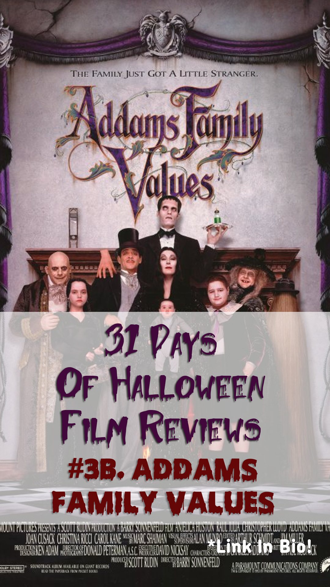 Addams Family Values Film Review