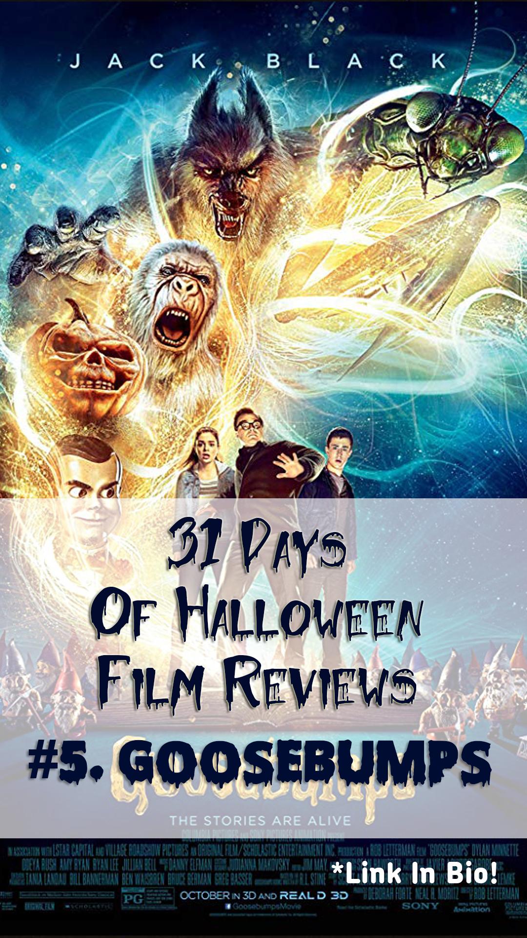 Goosebumps Film Review