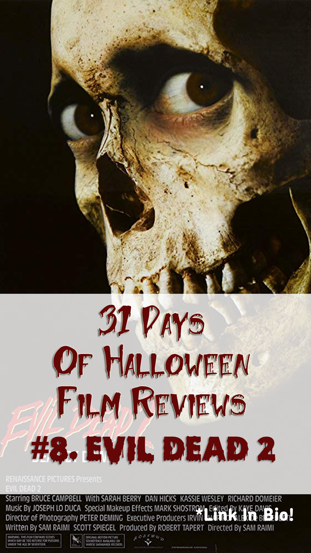 Evil Dead II Film Review