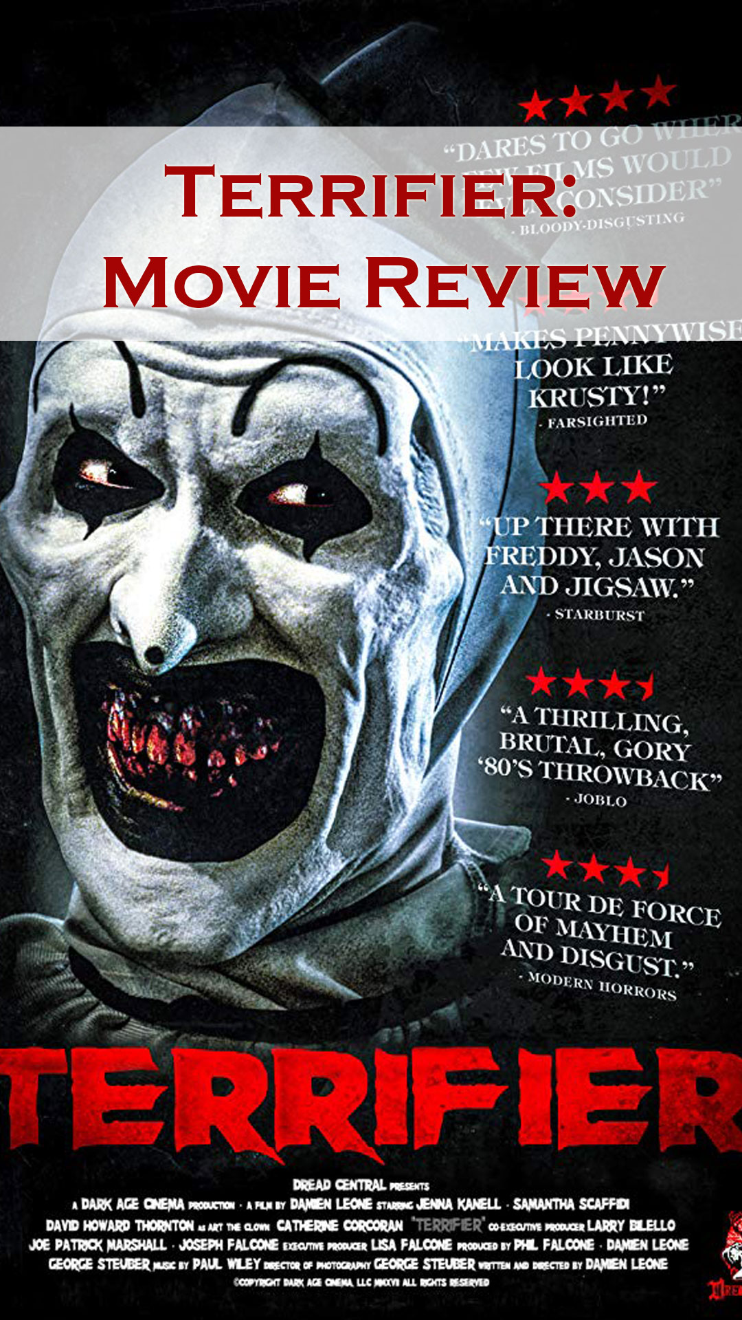 Terrifier Film Review