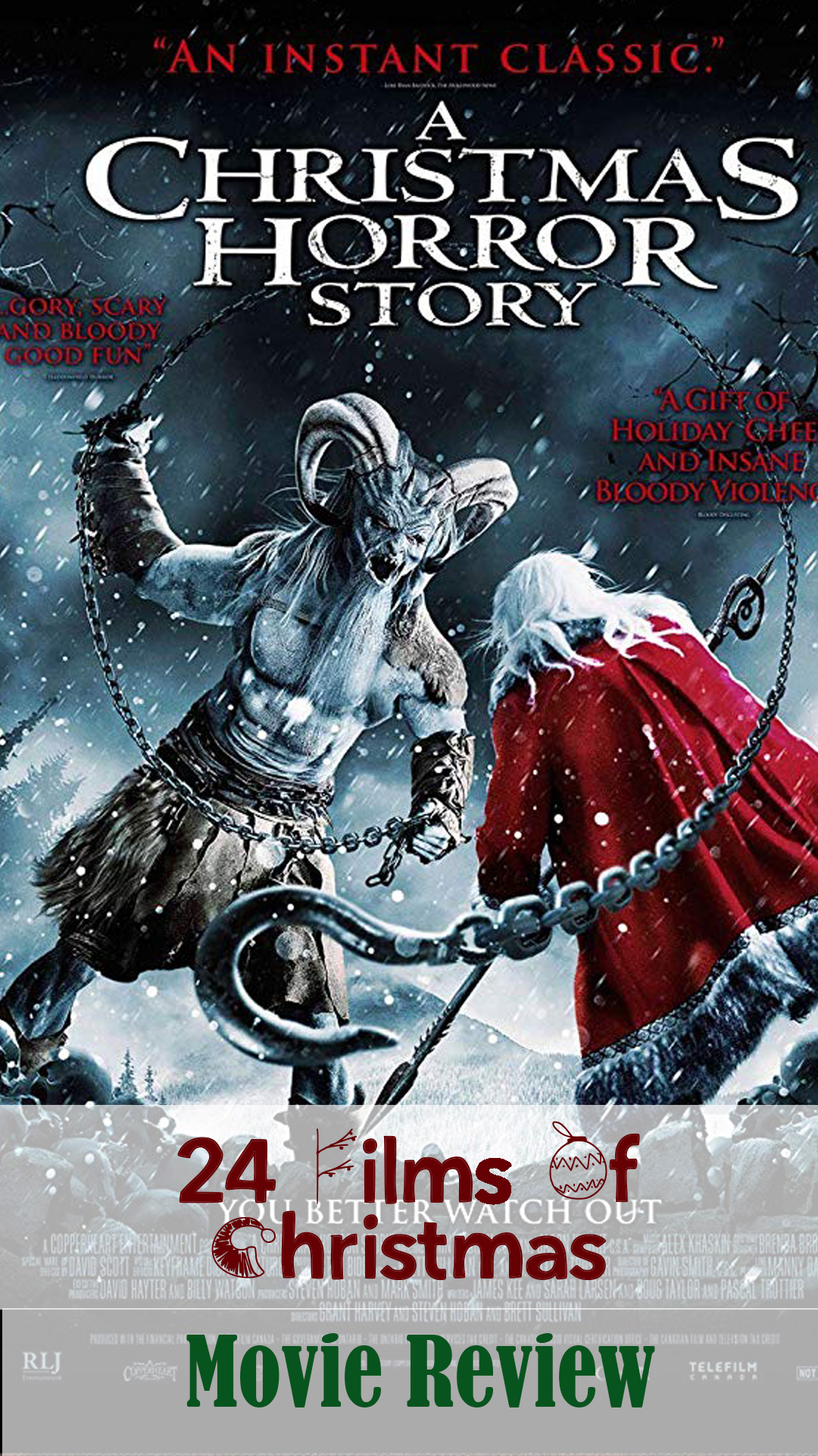 A Christmas Horror Story Film Review
