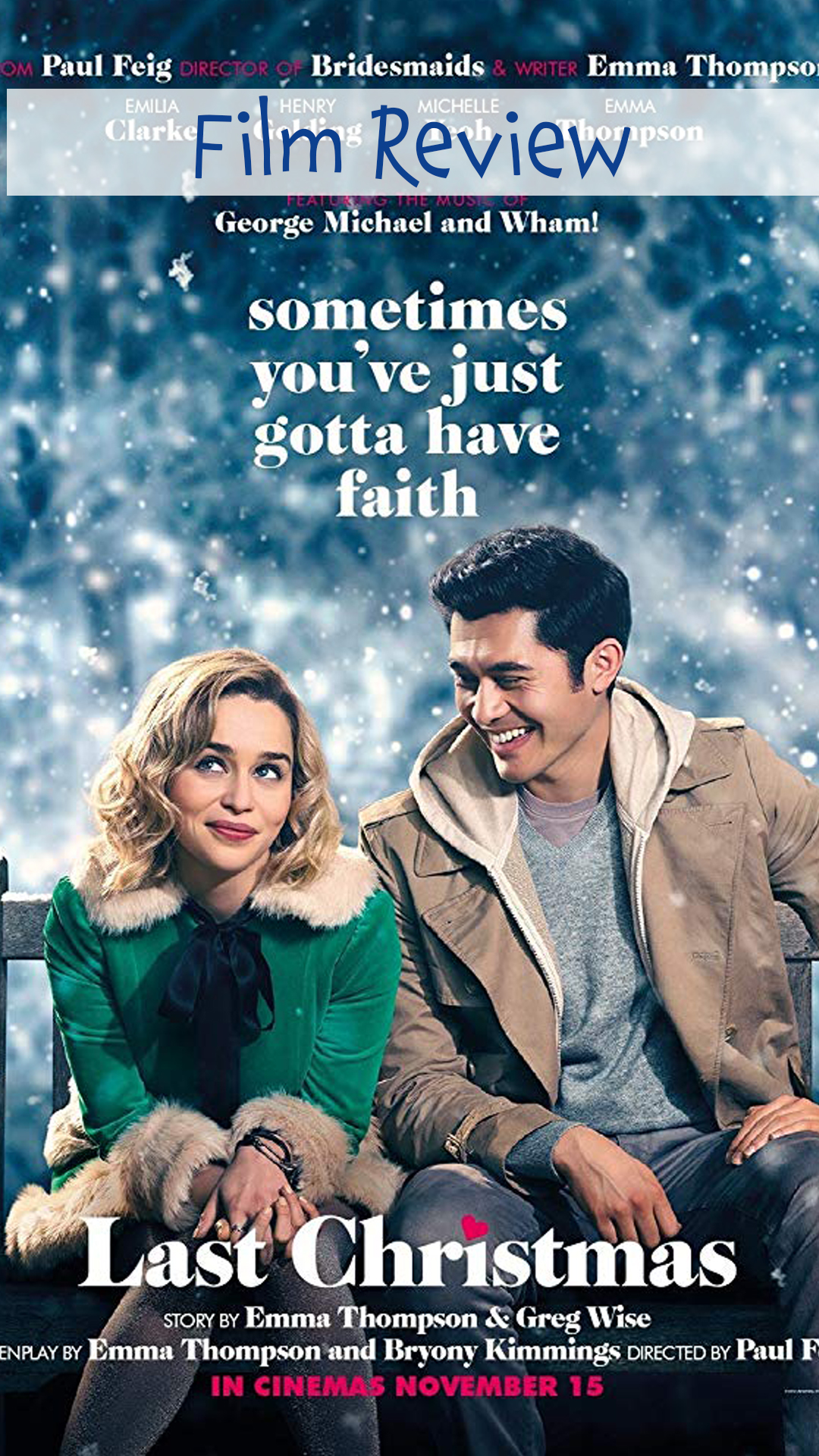Last Christmas Film Review
