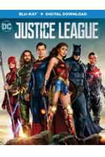 Justice League Bluray and Digital