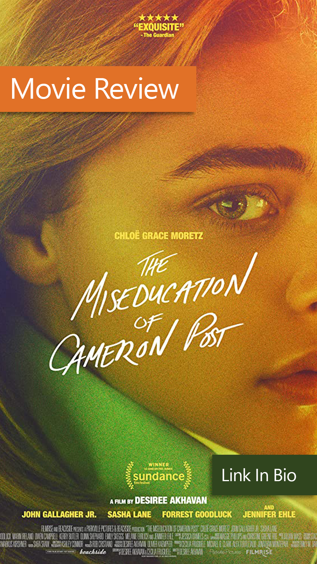 The Miseducation Of Cameron Post Film Review