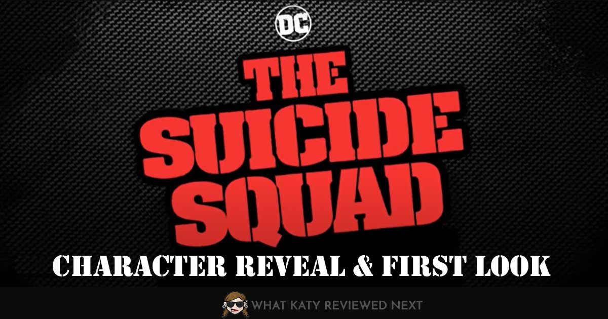 Suicide Squad character reveal