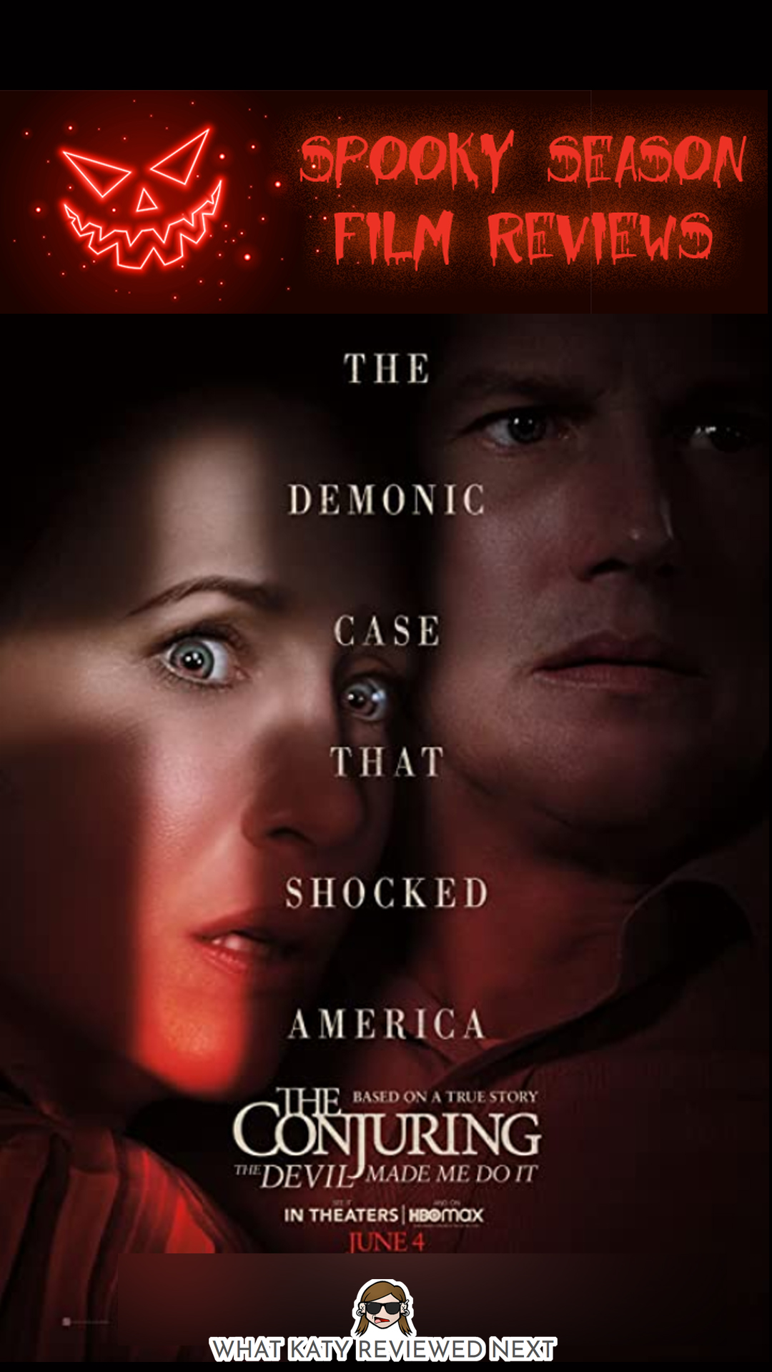 The Conjuring: The Devil Made Me Do It Film Review